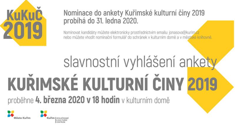 Survey of cultural events in Kuřim 2019